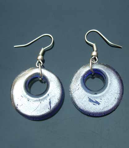 Murano Round Earrings (sold in per pairs)