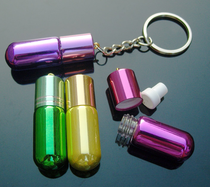 Perfume Keyring Charms (Assorted Colors)