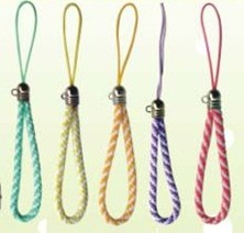 CELLPHONE BRAIDED NYLON STRING(Sold in per package of 25 pcs,Assorted Colors)