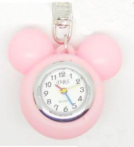 Mikey Keychain Watches(sold in per package of 10pcs,assorted colors)