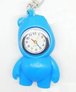 Bear Keychain Watches(sold in per package of 10pcs,assorted colors)