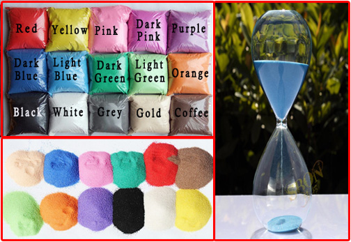 Sand For Sandglass Jewelry Making(Sold in per package of 25G)