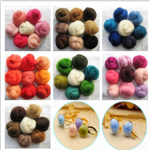 Curly Needle Felt Wool(Sold in per package of 50g)