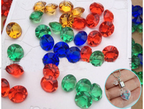 2.8/2.3/2MM Acrylic Diamond(Sold with package of 200pcs)