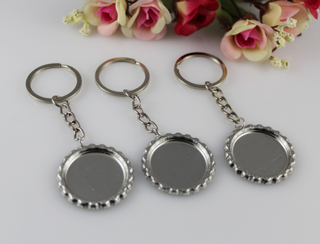 DIY Bottle Cap Key Chain