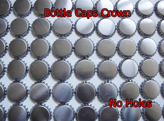 Crown Bottle caps Without Hole