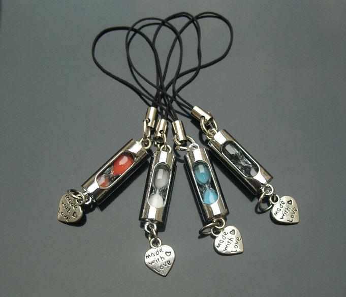 Sandglass Cellphone Straps(Radom Colors)