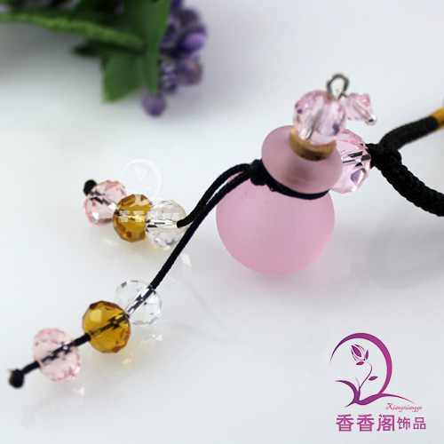 Murano Glass Perfume Necklace Candy Ball (with cord)