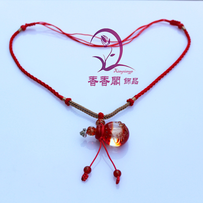 Murano Glass Perfume Baroque Necklaces (with cord)