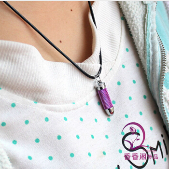 Bullet Perfume Bottle Necklaces