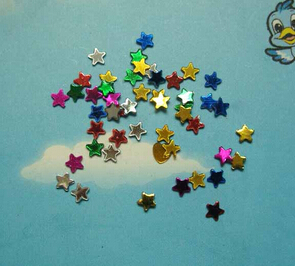Multicolored Star(sold in per package of 15G)