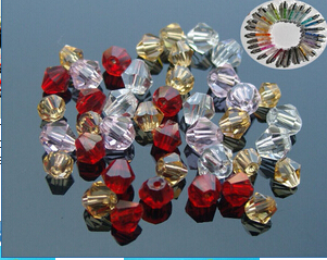 Crystal Lemon Beads (sold in per package of 100 pcs)
