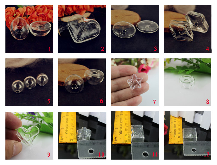 DIY Liquid Ring Necklace Bottles(11 styles avaialbe)