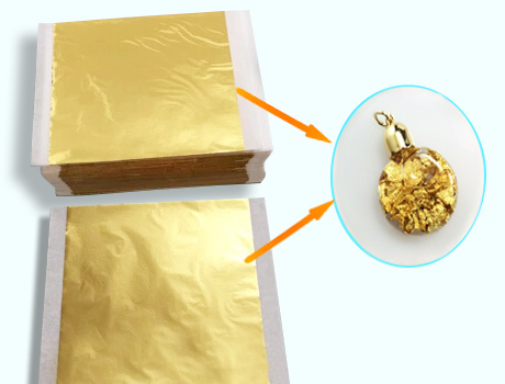 Gold foil paper(Sold in per package of 10pcs)