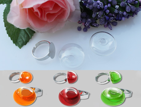 20X20MM/25X25MM Mushroom-shaped Bubble Liquid Rings