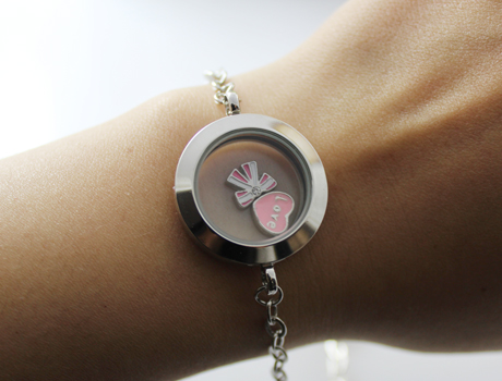 25mm twist screw floating charm locket bracelet lockets with chains 25mm twist screw floating charm locket bracelet aloadofball Images