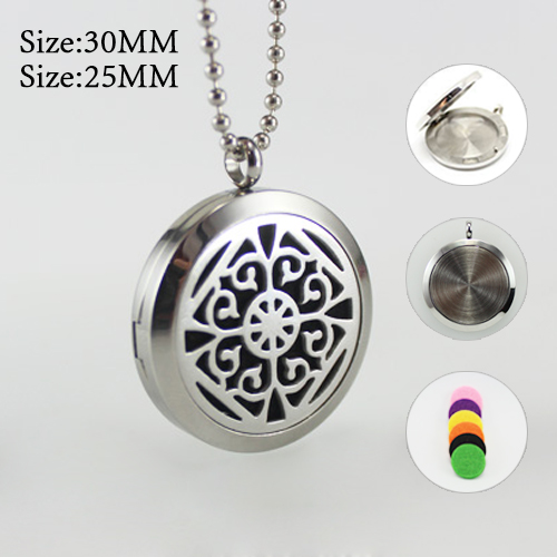 25MM/30MM Perfume Diffuser Locket Necklace