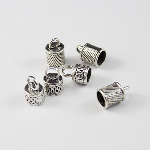Alloy Metal Caps For Glass Globe Vials(Sold package of 10 pcs)
